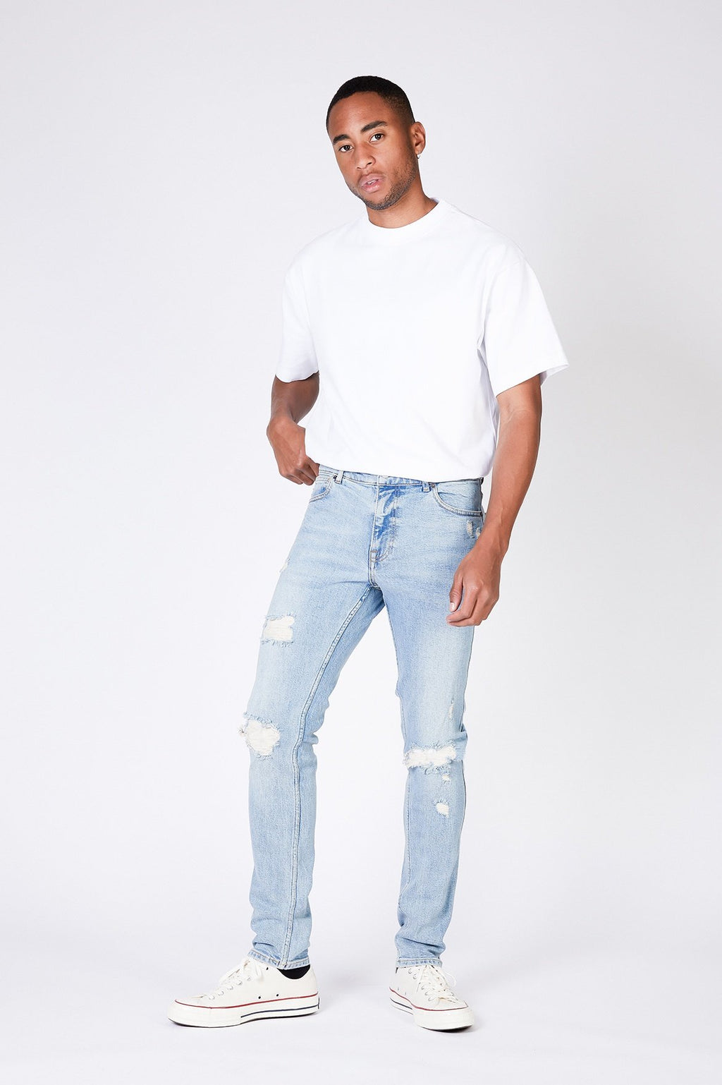 Clark Jeans - Blue Rock Ripped