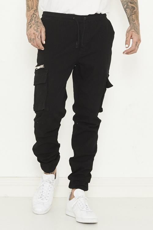 Stretch cotton-rich denim; unlined; opaque pants