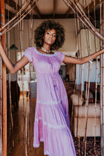 Daydreamer Maxi Dress in Lavender