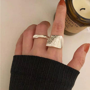 Amelia Hammered Ring