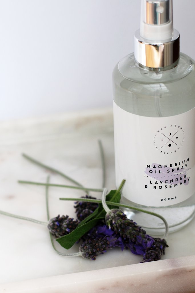 Lavendar & Rosemary Magnesium Spray
