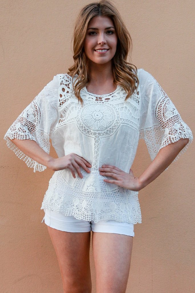 Paige Lace Top