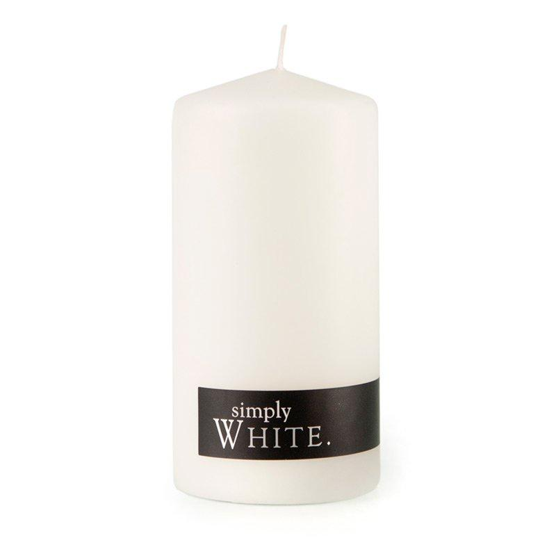 White Pillar Candle Standard