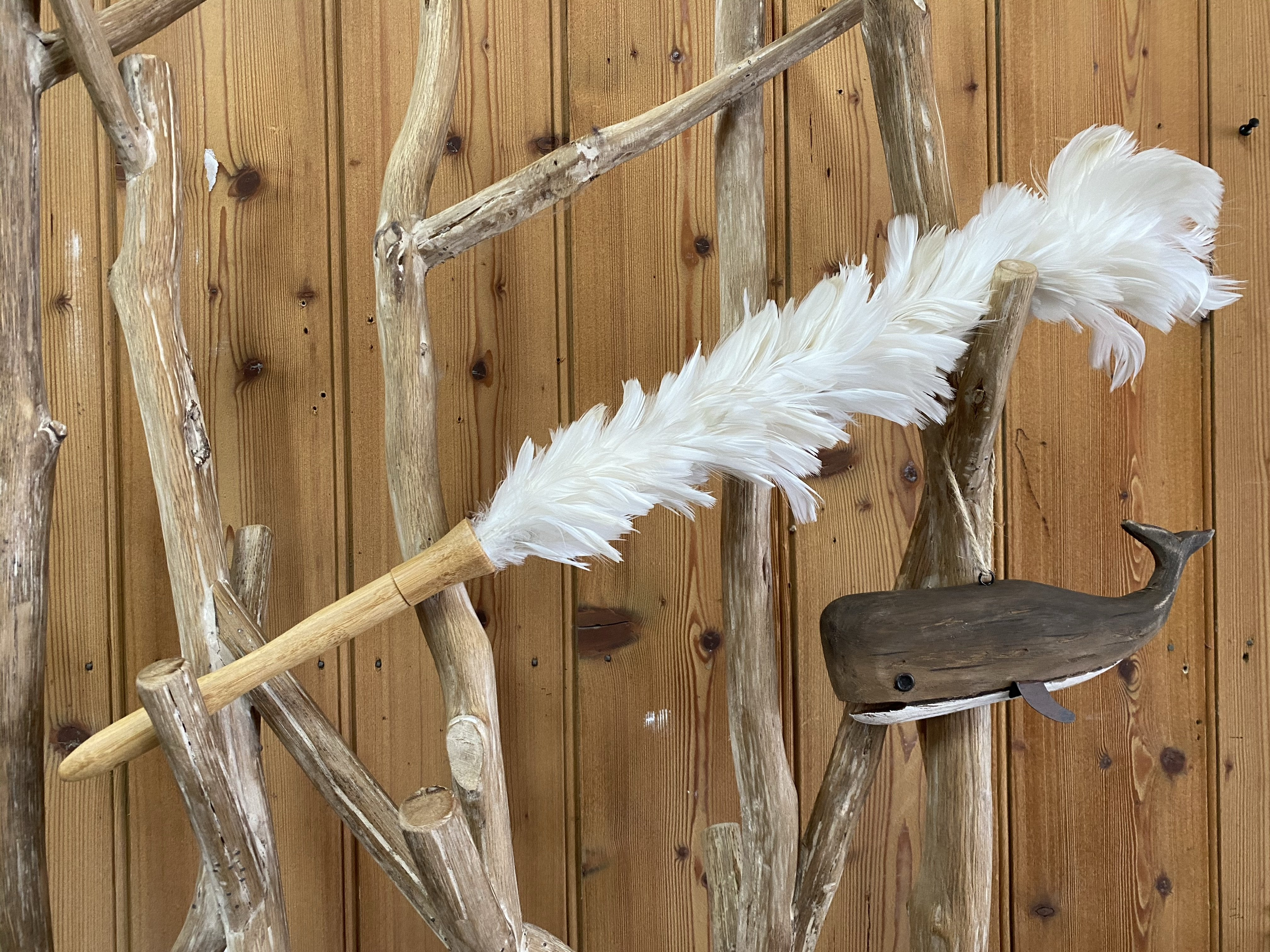 Feather Duster - White
