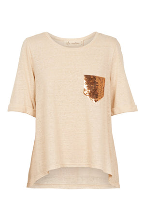 Mama Sequin T-Shirt