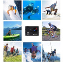 Action Camera, 4K WiFi Ultra HD Video Camera Waterproof DV Recorder