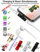 2 in 1 iPhone Charger & headset Adapter
