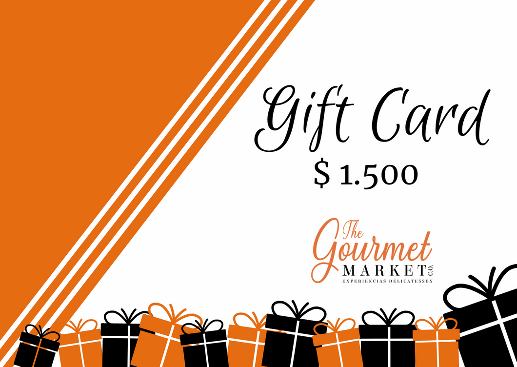 Gift-Card-mil-quinientos-pesos-The-Gourmet-Market-Co
