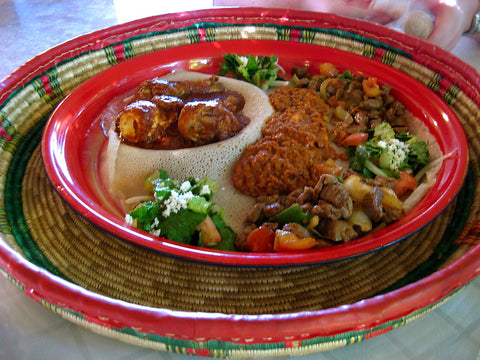 Vardeman, Kimberly. Taste of Ethiopia. 2 Oct. 2010. Flickr, https://www.flickr.com/photos/kimberlykv/5097664539/.