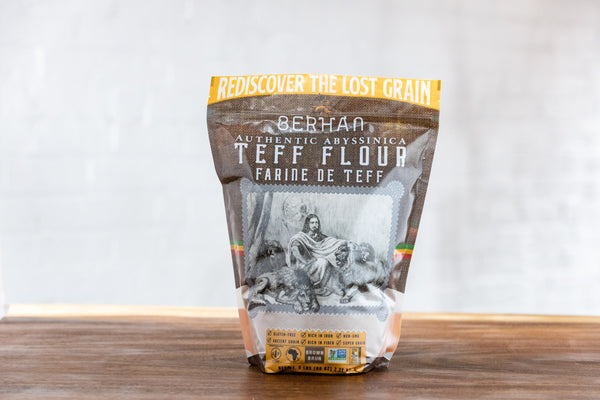 1 lb. Brown Teff Flour