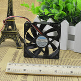 For Meiya NMB 7015 12V 0.3A 2806GL-04W-B59 Computer CPU Case Cooling Fan - ebowsos
