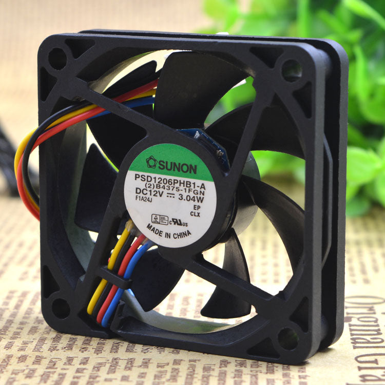 For Jianquan 6015 PSD1206PHB1-A 12V 3.04W chassis server small axial cooling fan - ebowsos
