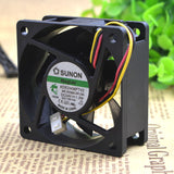For SUNON 6025 KDE2406PTV2 24V 1.2W 6CM 6025 3-wire Inverter cooling fan - ebowsos