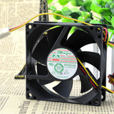 For Protechnic MAQIC MGT8012LS-A25 12V 0.12A 8CM 8025 Fan - ebowsos