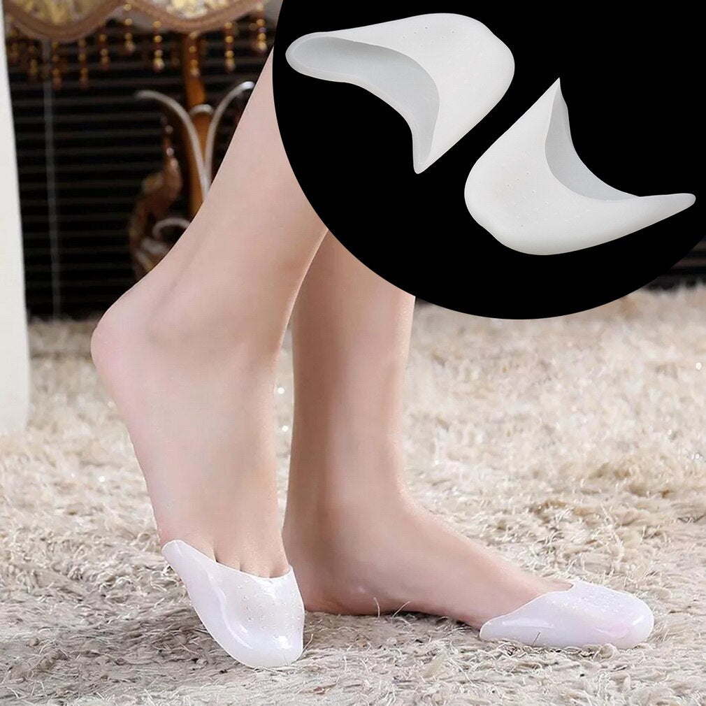 1/2/3 Pair Silicone Gel Toe Sleeve Comfortable Ballet High Heel Toe Sleeve Pain Relief Protect Foot Care Sleeve T - ebowsos