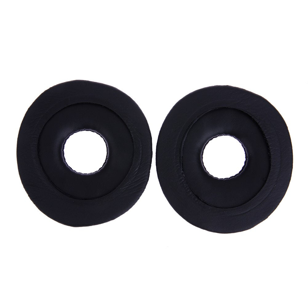 1 Pair Replacement Ear Pads Cushion for Technics RP DJ1200 DJ1210 Headphones headset Black EarPads  High Quality Accessoreis - ebowsos