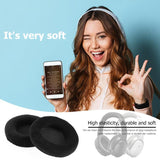 1 Pair Replacement Velvet Earpads Cushions Ear Pads Earmuffs for AKG K601 K701 K702 Headset High Quality Earpads Accessory Hot - ebowsos