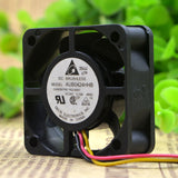 For Original Delta AUB0424HHB 4015 4CM 24V 0.13A Three-wire mute Cooling fan - ebowsos