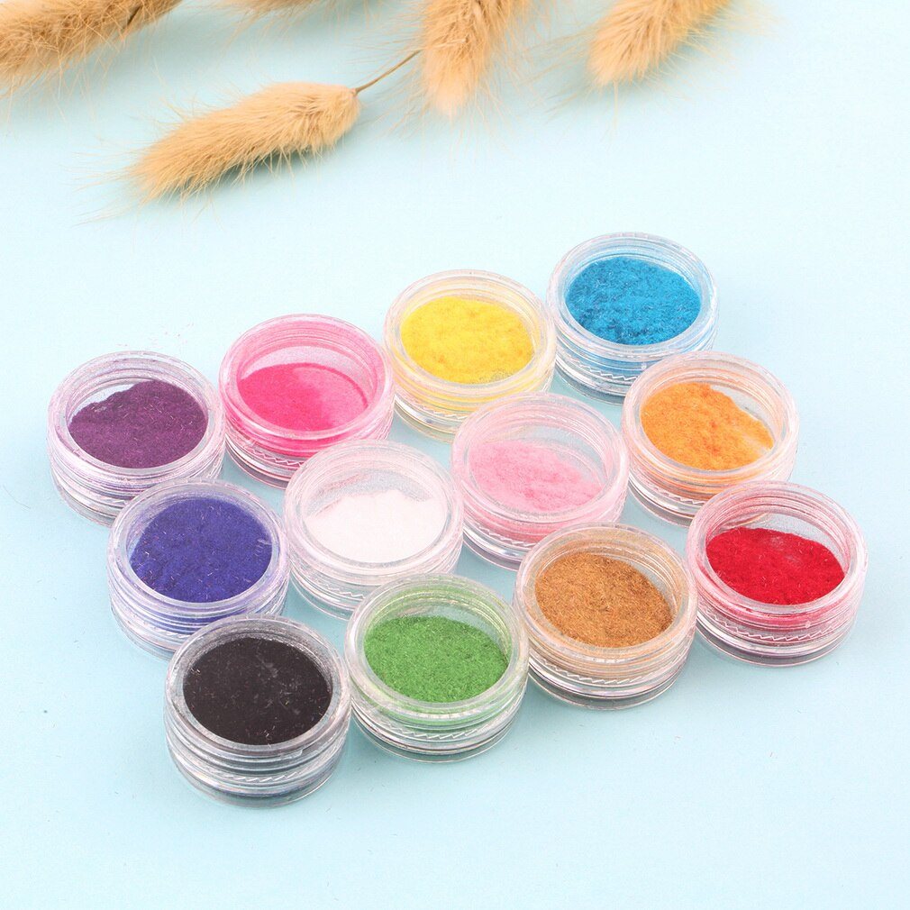 12 Mix Colors Acrylic Powder Nail Art Dust Powder Decoration for Nail Powder Drop Shipping Wholesale - ebowsos
