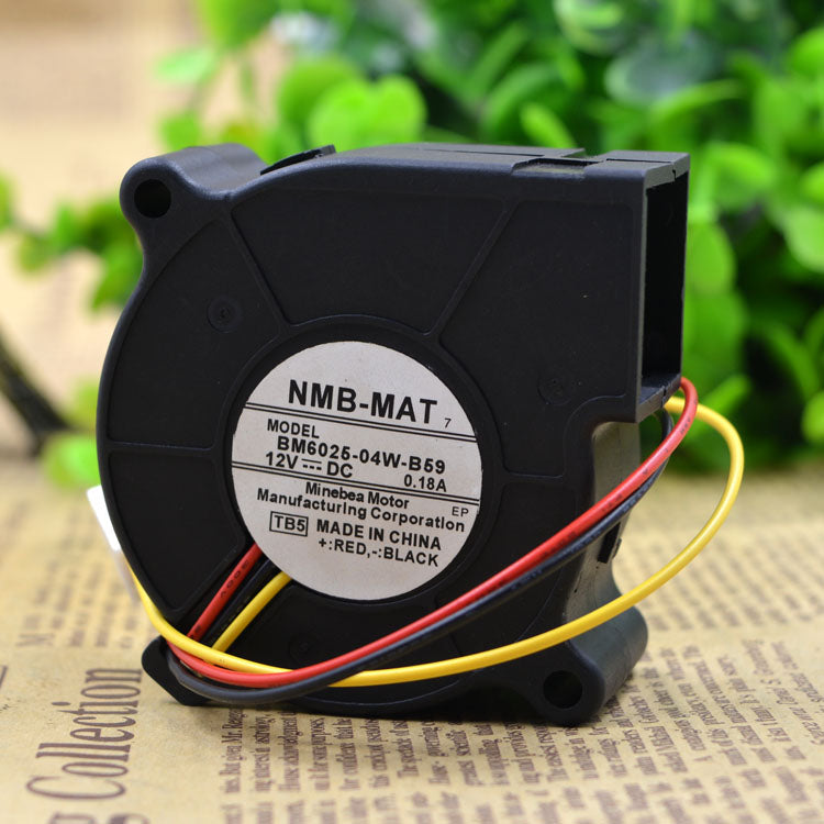 For new NMB 6025 DC12V 0.24A 0.18a BM6025-04W-B59 projector turbo fan - ebowsos