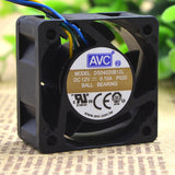 For AVC Qihong 4cm 4020 12V 0.10A DS04020B12L 3-wire double ball cooling fan - ebowsos