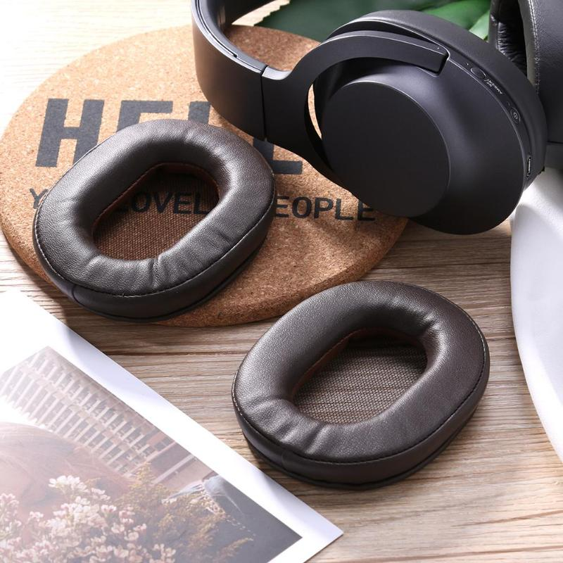 1Pair  Replacement Pair Ear Pad Cushion Ear Cups Foam Cover Headphone EarPads Case for Sony 1R MDR-1R/1RNC Headset Heaphone Hot - ebowsos