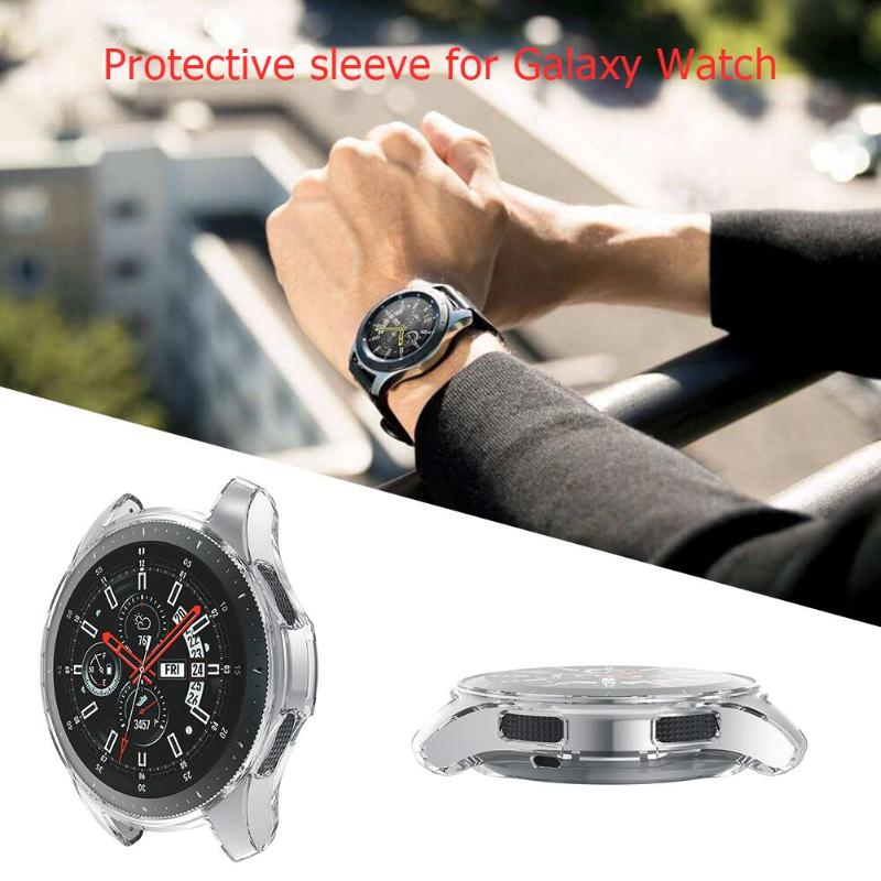 1Pcs Ultra-thin Soft TPU Protection Case Watch Cover Shell Frame for Samsung Galaxy Watch 46mm S3 Pioneer High Quality Cover - ebowsos