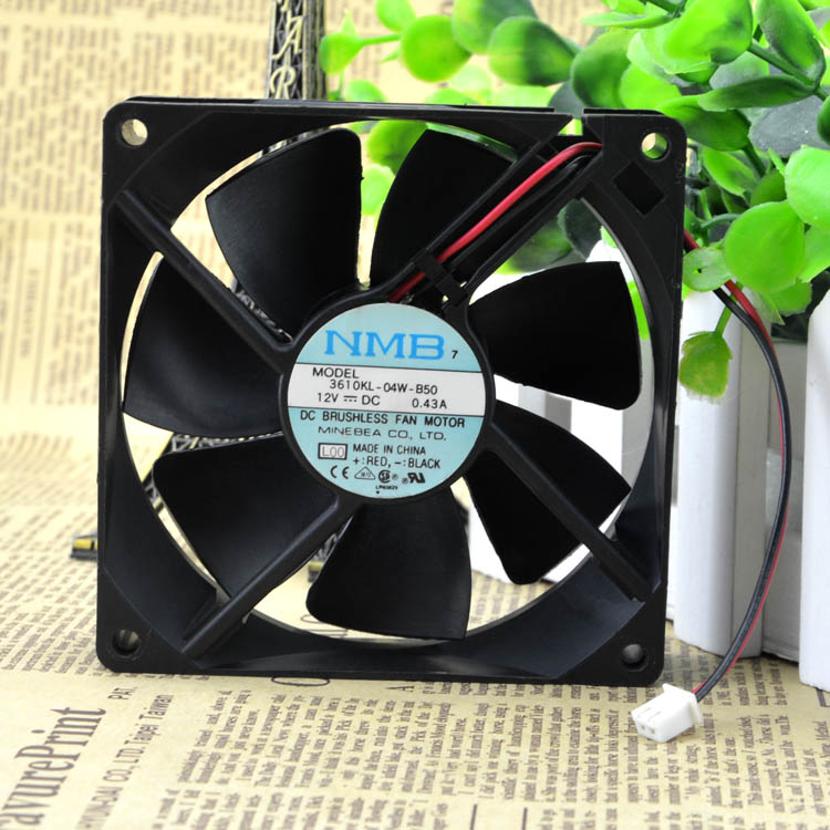 For Genuine NMB 9225 3610KL-04W-B50/B59 12V 0.43A Shante 3K UPS dedicated fan - ebowsos