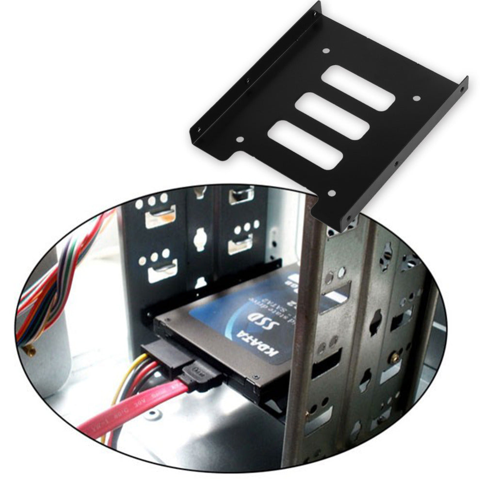"""50*PC 2.5/"""" HDD SSD TO 3.5/"""" METAL MOUNTING ADAPTER BRACKET UPGRADE DOCK FOR SSD"""