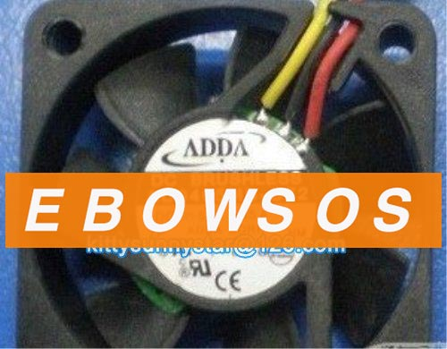 ADDA 4010 AD0405MB-G72 5V 0.15A 3Wire Server Fan,Cooling Fan - ebowsos