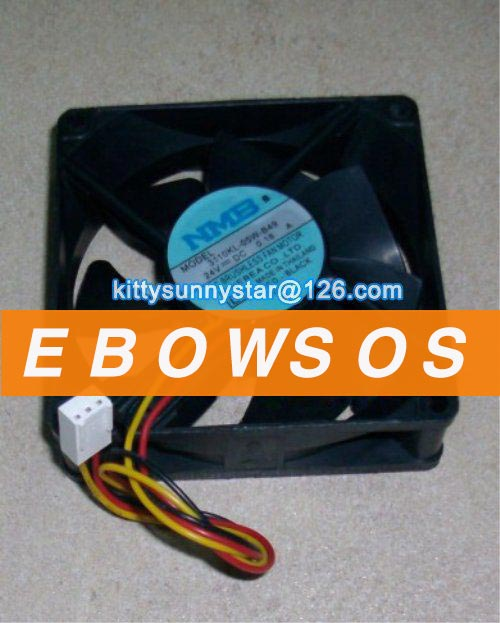 NMB 8025 3110KL-05W-B49 24V 0.15A Fanuc fan,Server fan,Inverter fan,Cooling Fan - ebowsos