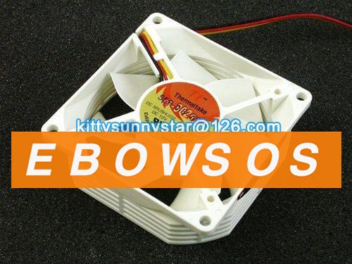 EVERFLOW 8025 F128025DM 12V 0.14A 3Wire A3062 TTA3061 Cooling Fan - ebowsos