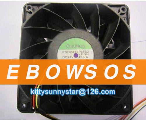 SUNON 12038 PSD2412PMB2 24V 15W Server Fan,Cooling Fan - ebowsos