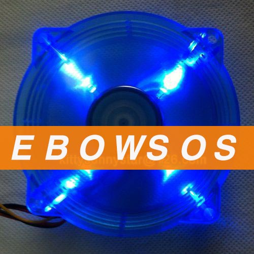 EVERFLOW 8025 F128025DU 12V 0.24A 3Wire Computer case fan,CPU Cooler ,Cooling Fans - ebowsos