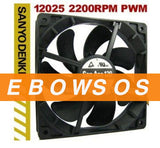 New Original San Ace120 12025 9S1212F401 12V 0.19A Cooling Fan - ebowsos