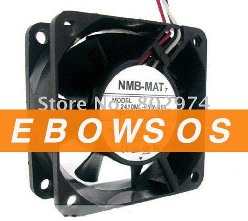 NMB 6025 2410ML-05W-B69 24V 0.17A VFD Fan ,Cooling Fan - ebowsos