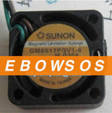 Free shipping SUNON 1708 GM0517PDV1-8 5V 0.75W 3Wire HDD Fan,Notebook CPU Cooler Fan,Cooling Fan - ebowsos