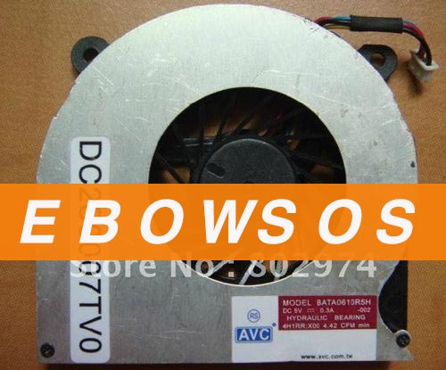 AVC BATA0610R5H 5V 0.3A Hydraulic Bearing,Notebook CPU Fan,Laptop CPU Fan,Cooling Fan - ebowsos