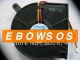 dc brushless fan motor NMB 6020 BM6620-04W-B59 12V 0.3A Blower fan - ebowsos