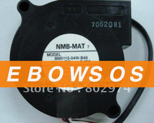 NMB 5015 BM5115-04W-B49 12V 0.16A dc Blower Centrifugal Fan,Server Fan,Cooling Fan - ebowsos
