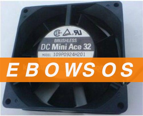 SANYO 9232 109P0924H201 24V 0.14A Cooling Fan - ebowsos