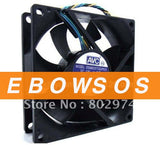 AVC 8025 DS08025T12UP033 12V 0.7A 4Wire 1B1S Bearing Fan,Cooling Fan - ebowsos