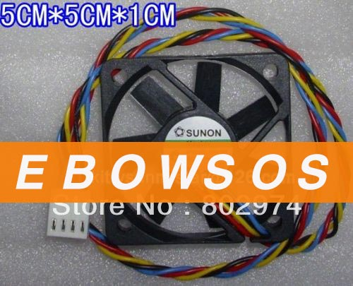 SUNON 5010 MF50101V1-Q020-S99 12V 1.44W 4Wire Cooling Fan - ebowsos