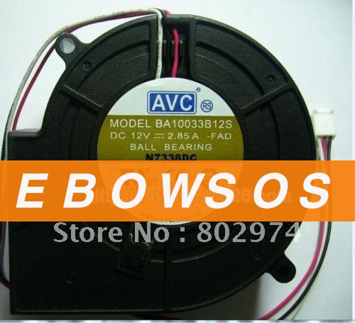 AVC 9733 BA10033B12S 12V 2.85A Server Fan,Computer CPU Cooler Fan,CPU Fan,Cooling Fan - ebowsos