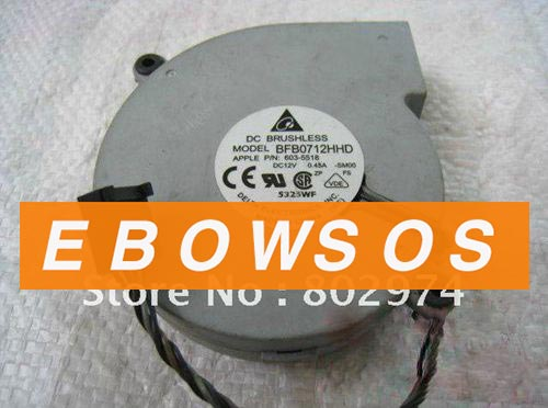 Delta 7520 BFB0712HHD 12V 0.45A For Apple P/N:603-5518 Blower Centrifugal Fan,Cooling Fan - ebowsos
