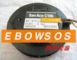 San Ace C100 10020 XF-37111 48V 0.36A DC Centrifugal Circle Shape Fan,Cooling Fan - ebowsos