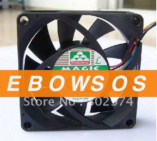 MAGIC 7025 MGT7012ZR-W20 12V 0.63A 4Wire Cooling Fan - ebowsos