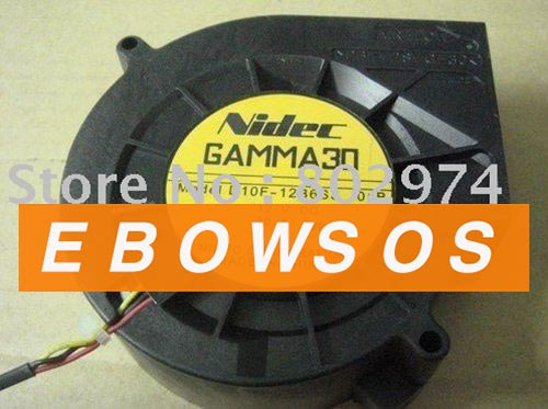 NIDEC 9733 D10F-12B6S3 12V 0.3A Server Fan, Cooling Fan - ebowsos