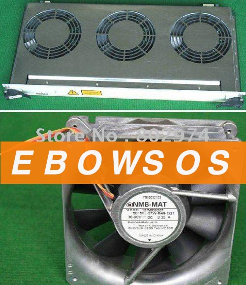 NMB 127M038D07 36-60V 0.35A Cooling Fan,set of 3 Fans - ebowsos