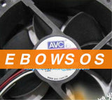 AVC 9225 DS09225R12H-014 12V 0.41A 3Wire Hydraulic Fan,Computer CPU Cooler Fan,Server Fan,Cooling Fan - ebowsos